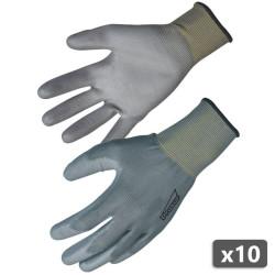 10 x Gant de travail manutention - NYM713PUG PROSUR