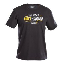 Tee-shirt de travail noir DASSY ALONSO
