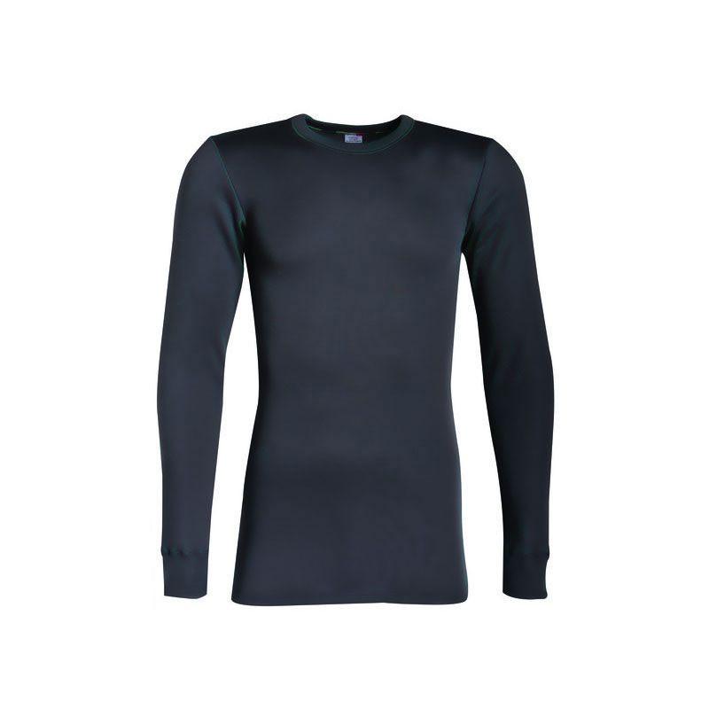 T-shirt Manches Longues Thermique Gris - 57687451 LEMAHIEU PBV