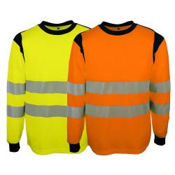 Tee shirt haute visibilité classe 2 manches longues SINGER SUVA/SUVO