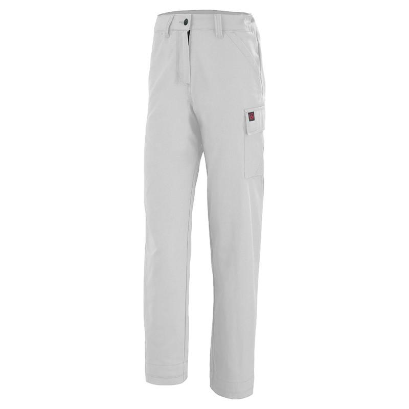 Pantalon de travail blanc femme Lafont JADE 1MIFUP