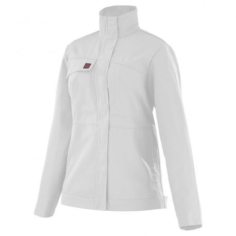 Veste professionnelle blanche pour femme Lafont 3MIFUP CITRINE