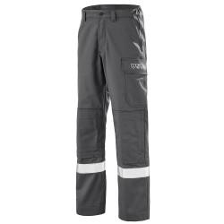 Pantalon multirisque gris Atex Reflect 350 CEPOVETT SAFETY