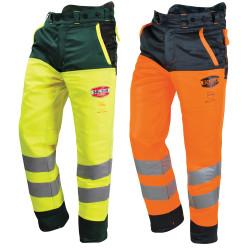 Pantalon bûcheron haute visibilité classe 1 type A Solidur Glow