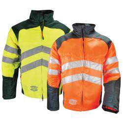 Veste anti coupure haute visibilité Solidur GLOW