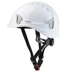 Casque de sécurité blanc non ventilé ALPINW2 SINGER