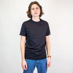 Tee shirt de travail 100% coton bio noir PUNTA Forest Natural Workwear
