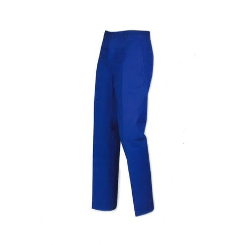 Pantalon bleu de travail pas cher en 100% coton Lafodex