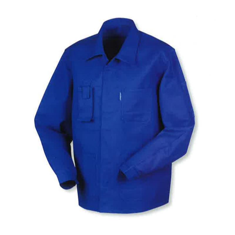Veste bleue de travail pas cher bugatti 100% coton Lafodex