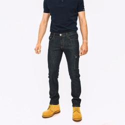 Jean de travail bleu en coton bio DELTA Forest Natural Workwear