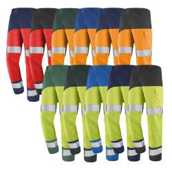 Pantalon haute visibilité classe 2 FLUO SAFE XP Cepovett