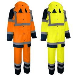 Complet de pluie haute visibilité pantalon et veste - Singer Safety VILA/VILO