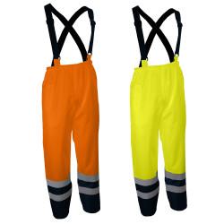 Pantalon de pluie haute visibilité à bretelles PIVO/PIVA Singer Safety