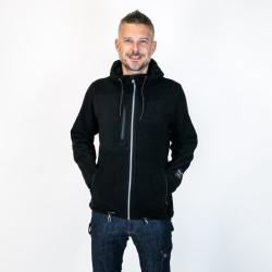 Veste polaire à capuche en polyester recyclé - CHILECHICO Forest Natural Workwear