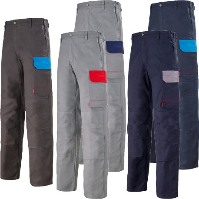 pantalon de travail bicolore pour homme lafont 1col82cp. Black Bedroom Furniture Sets. Home Design Ideas