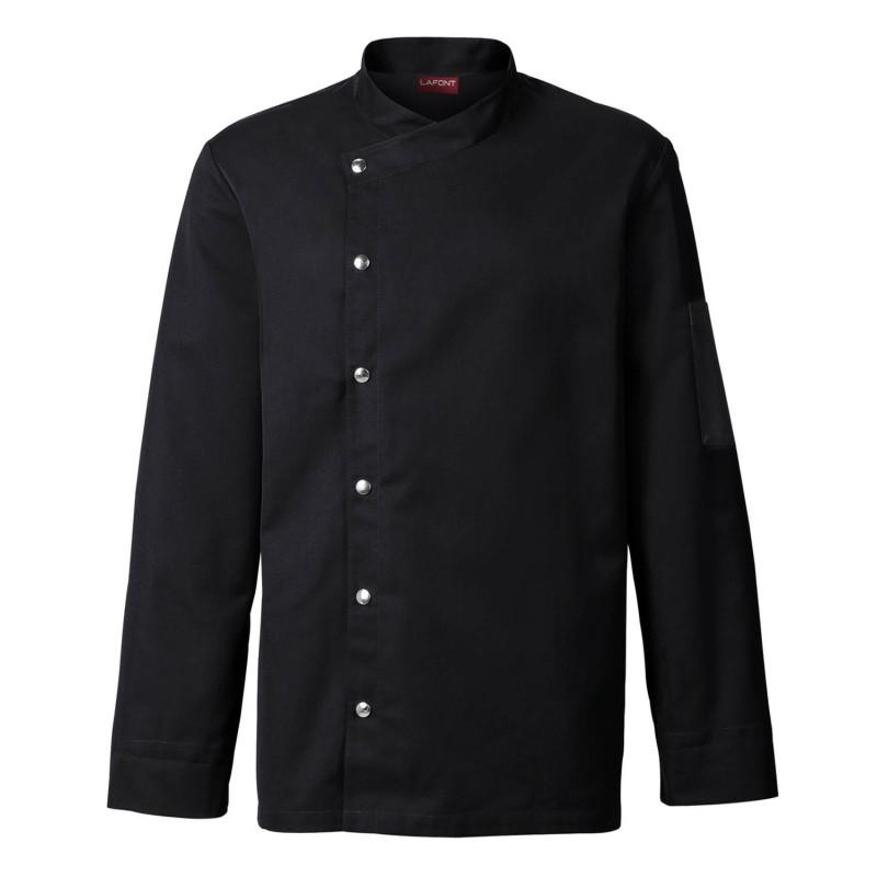 Veste de cuisine blanche ou noire pour Homme MOUTARDE LAFONT 2MTR