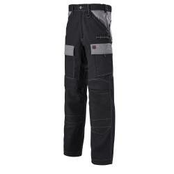 Pantalon de Travail LAFONT 1ATTUP - Noir contrasté Gris