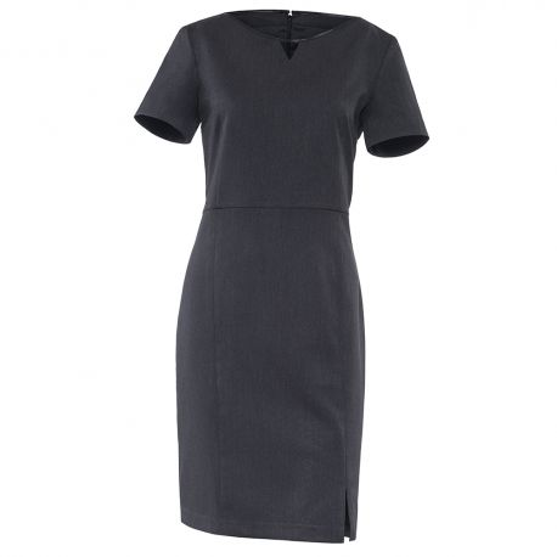 Robe Grise Anthracite pour serveuse LAFONT MOKA - Tenue Serveuse