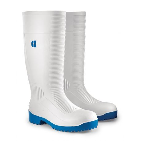 Bottes agro-alimentaires blanches PVC BASTION SHOES FOR CREWS