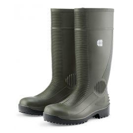Bottes PVC de sécurité vertes - BASTION SHOES FOR CREWS