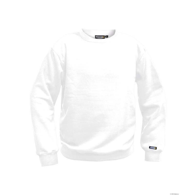 Sweat-shirt blanc uni - DASSY LIONEL
