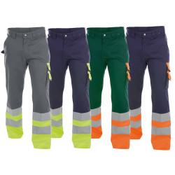 Pantalon de travail Haute Visibilité EN 20471 Classe 1 - DASSY OMAHA 245