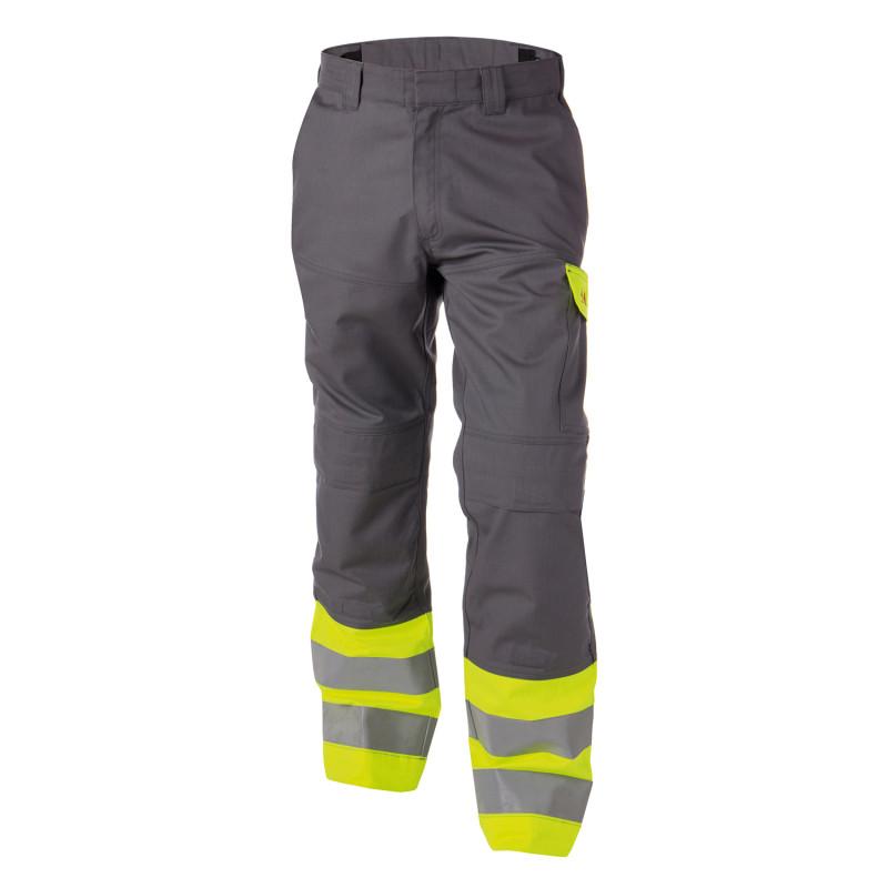 Pantalon de travail Multirisques Haute Visibilité Classe 1 - DASSY LENOX
