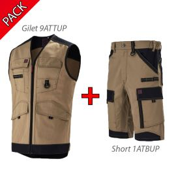 Pack Gilet + Short