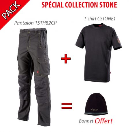 Pack Collection Stone Gris Charbon
