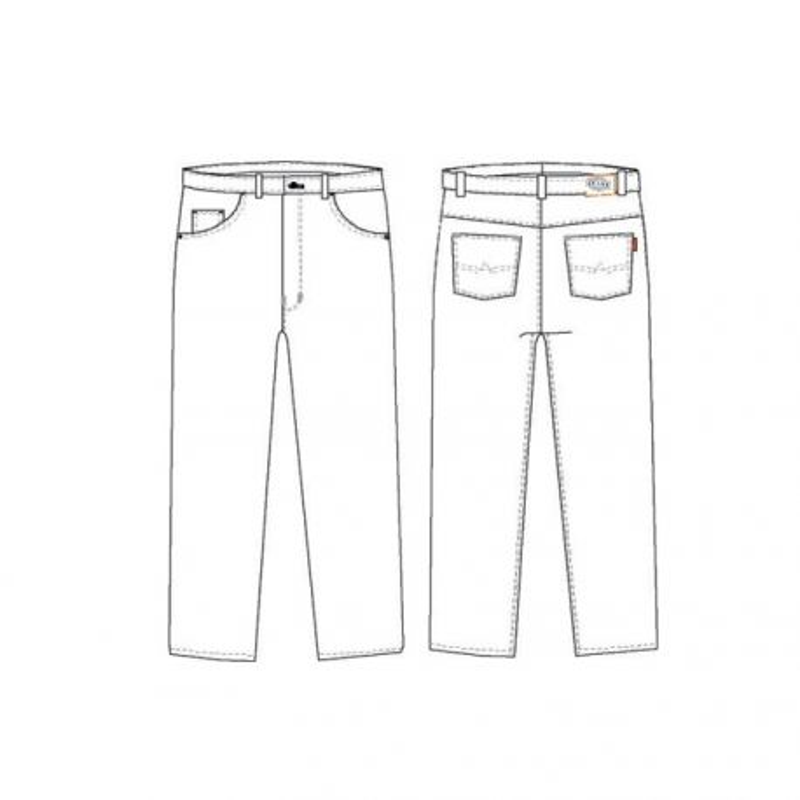 Jeans de travail 5 poches - PBV 25AW