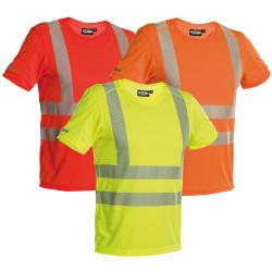 Tee shirt de travail Haute Visibilité - DASSY CARTER