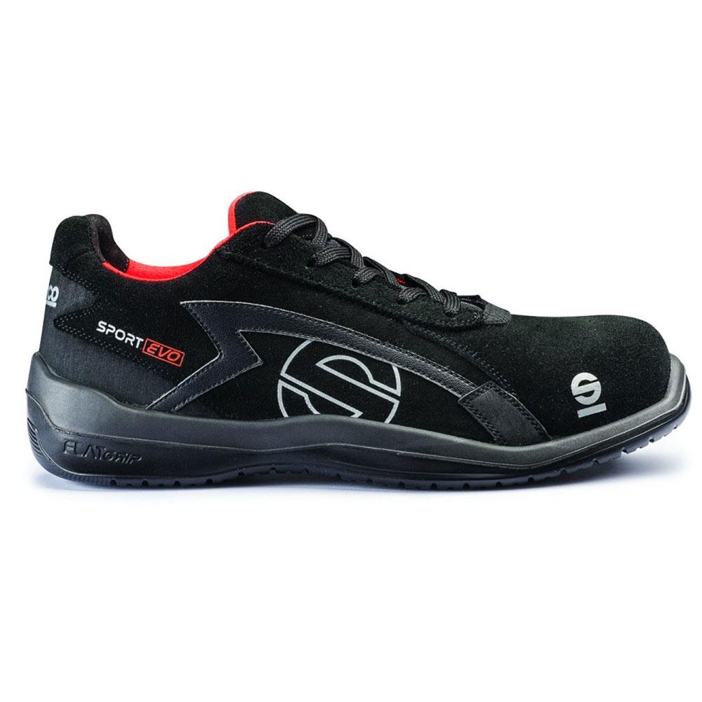 Baskets noires de sécurité SPARCO Sport Evo Norme S3 SRC