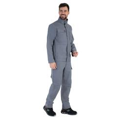 Pantalon de travail Mercerie tout plastique - 1MIMUPP BASALTE LAFONT