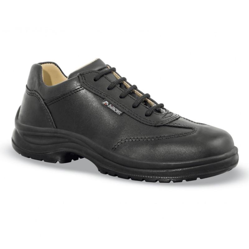 Chaussures de sécurite femme noires S3 SRC - AIMONT TURCHESE