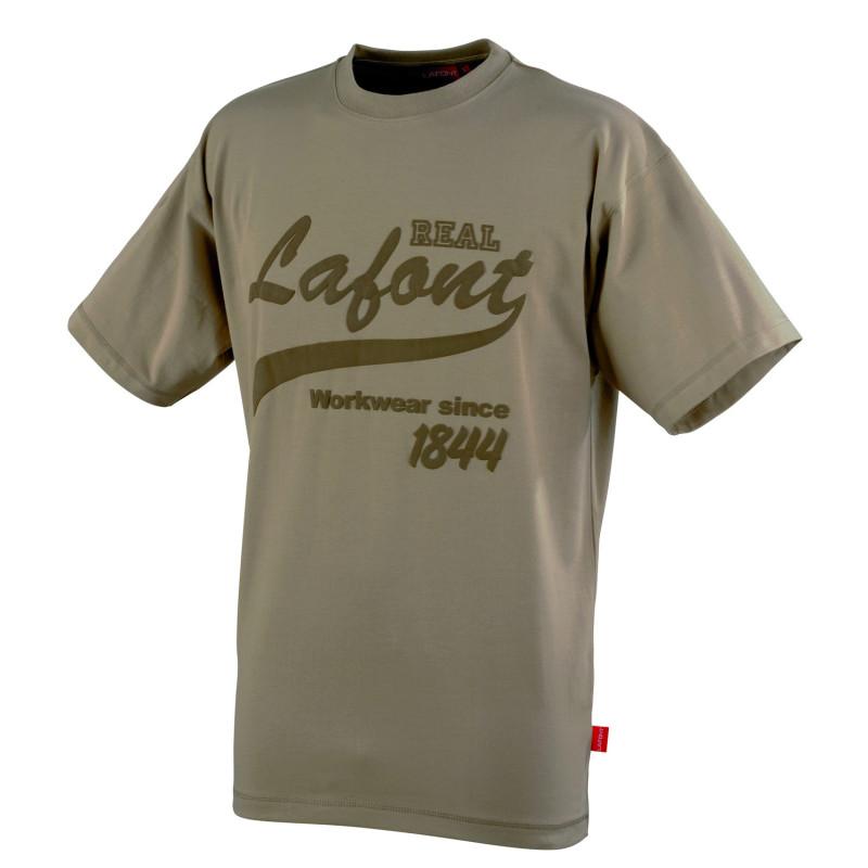 Tee-Shirt de travail Beige - LAFONT CSTONE