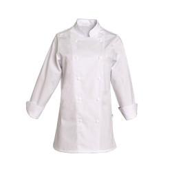 Veste de cuisine blanche pour Femme - SNV SABINE