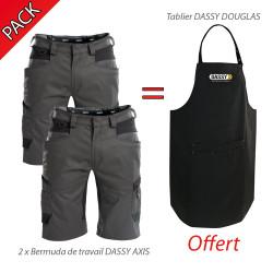 Pack Shorts et Tablier Dassy