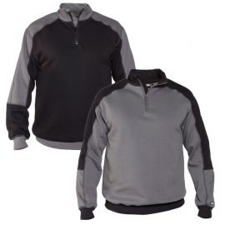 Sweat-shirt bicolore de travail - DASSY BASIEL