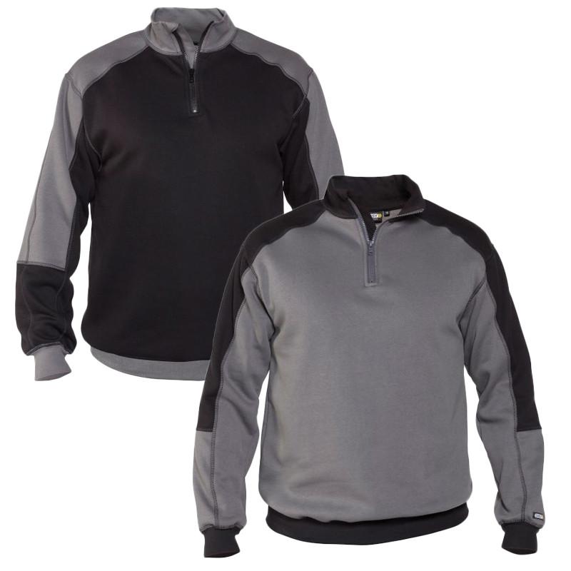 Sweat-shirt de travail bicolore - DASSY BASIEL