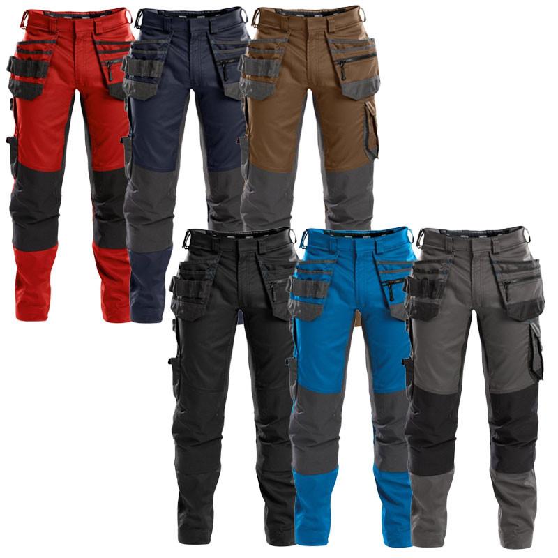Pantalon de Travail Stretch et Multipoches - DASSY FLUX