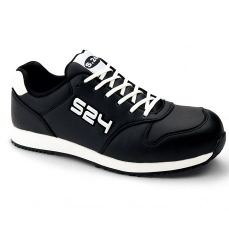 Chaussures de protection S3 HRO SRC   - ALL BLACK S24