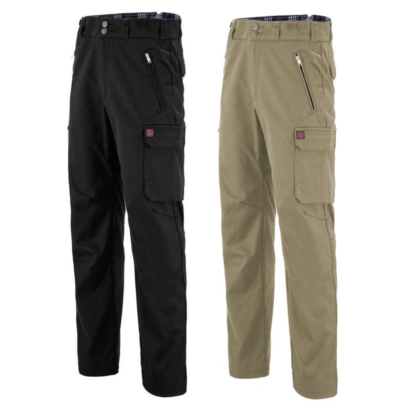 Pantalon largeot Lafont tissu chevron - 1GEN ACHILLE LAFONT