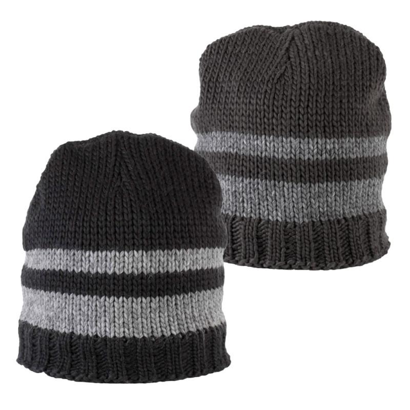 Bonnet tricot doublé polaire - KP531