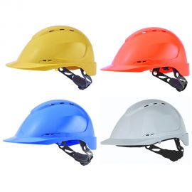 Casque de chantier aéré en ABS - SINGER SAFETY FORCE