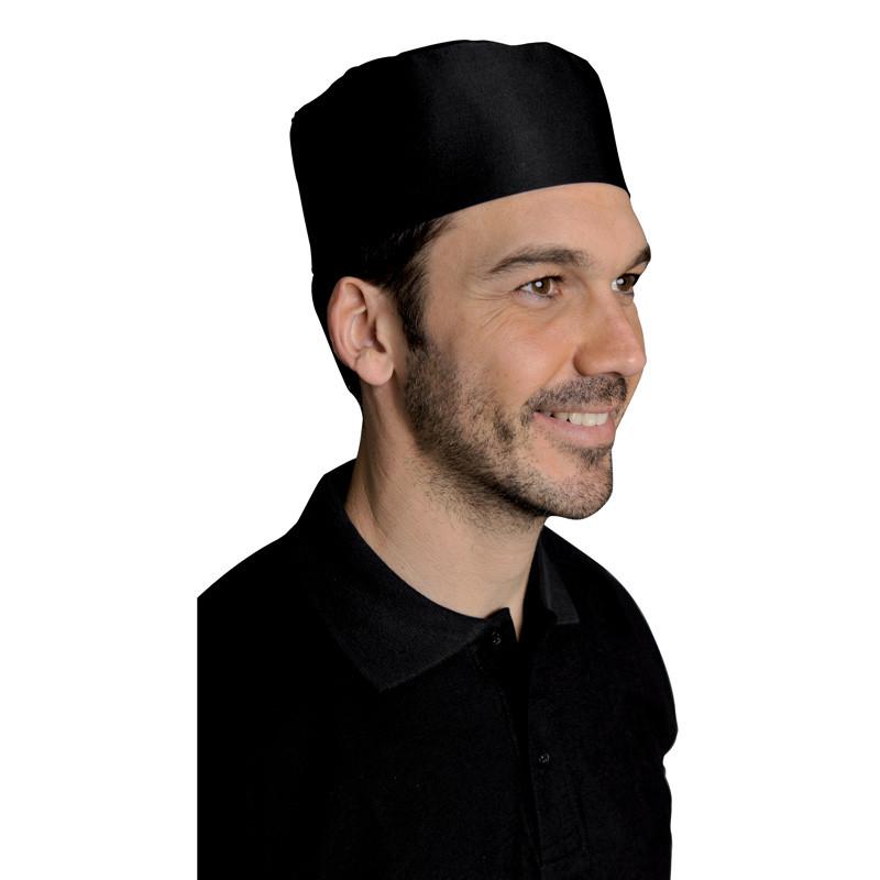 Calot de cuisine Noir - SNV CALSV004