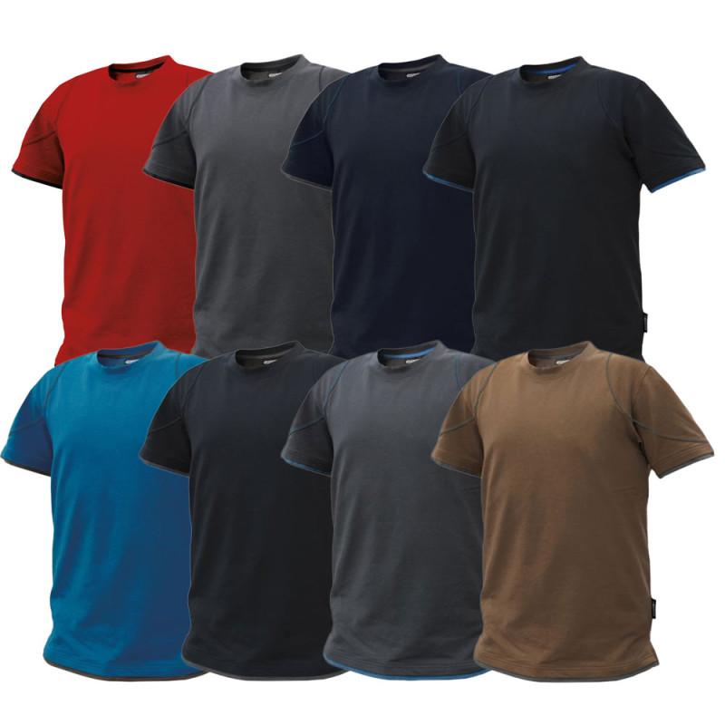 Dickies Bicolore T-shirt Twin Pack Blanc /& Gris de travail Hommes Top Tailles S-XXXL