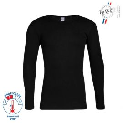T-shirt Manches Longues Thermorégulant Noir - 53338900 LEMAHIEU PBV