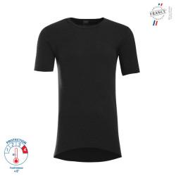 T-shirt thermique manches courtes Noir - 7675900 LEMAHIEU PBV
