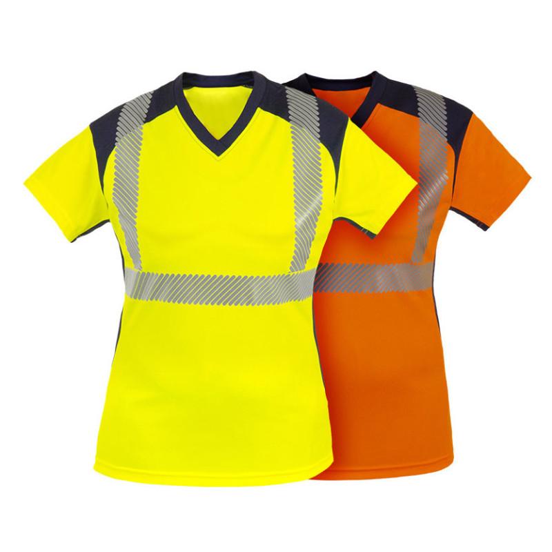 T-shirt Haute Visibilité pour Femme - BAHIA T2S