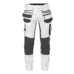 Pantalon Peintre Multipoches avec tissu Stretch - DASSY FLUX